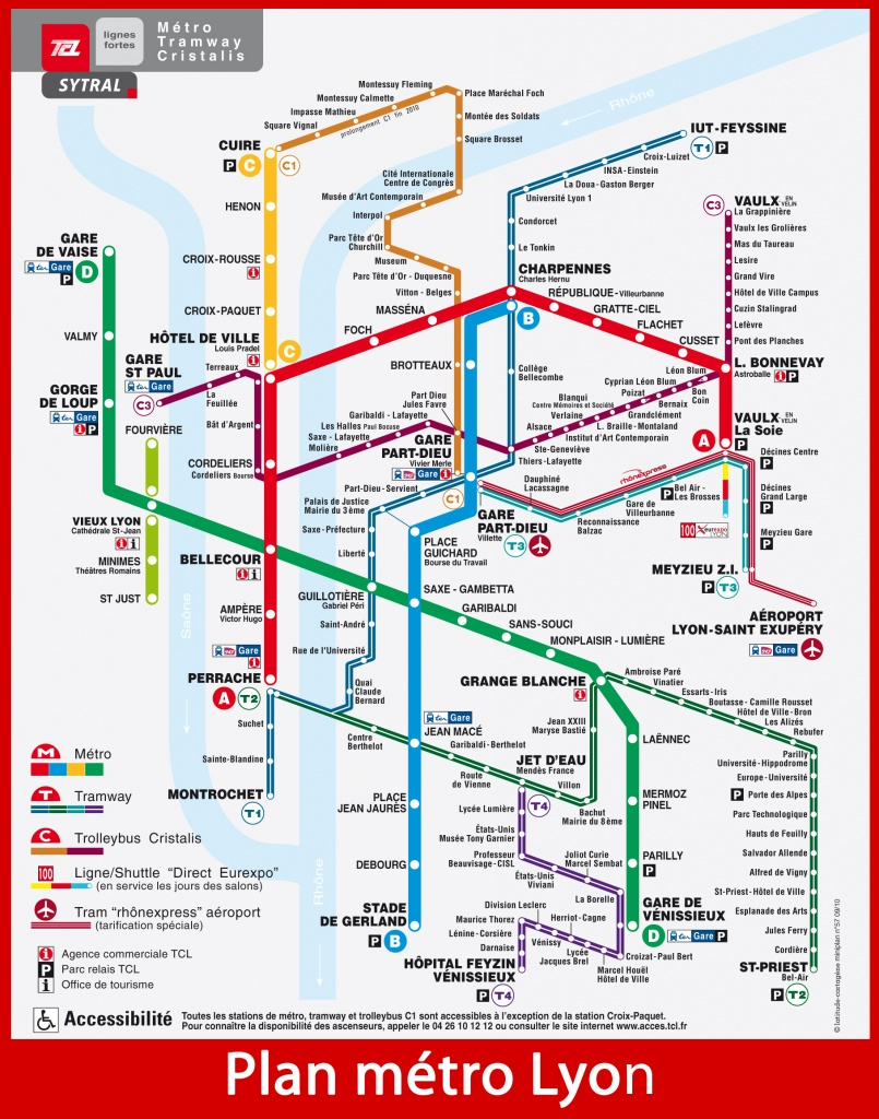 Lyon France Metro Map.Sisr Lyon December 2011